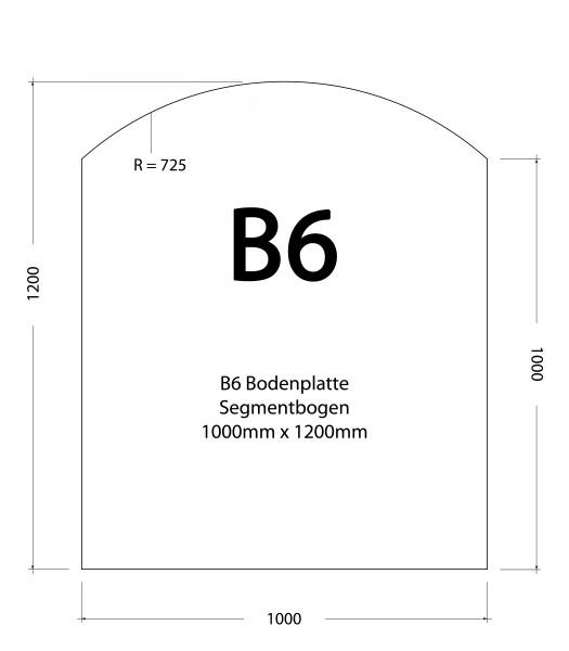 100 x 1200 x 1,5 mm (Grau, Schwarz, Edelstahl)